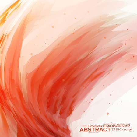 Abstract banner paints, vector background, colorful art illustration  Illustration