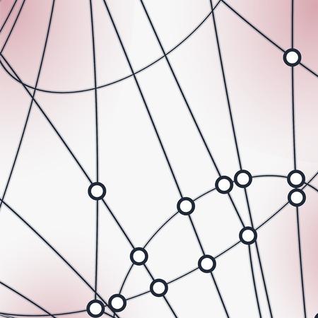 semiconductor: Abstract  background, technology illustration, stylish