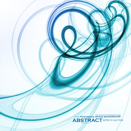 effortless: Abstract dynamic background, futuristic wavy vector illustration eps10 Illustration