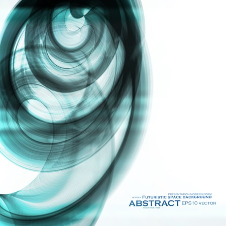 cyber space: Abstract dynamic background, futuristic wavy vector illustration eps10 Illustration