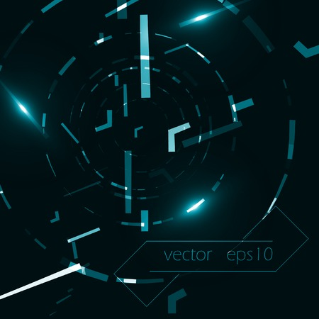 digital data: Abstract vector background, creative style illustration eps10.