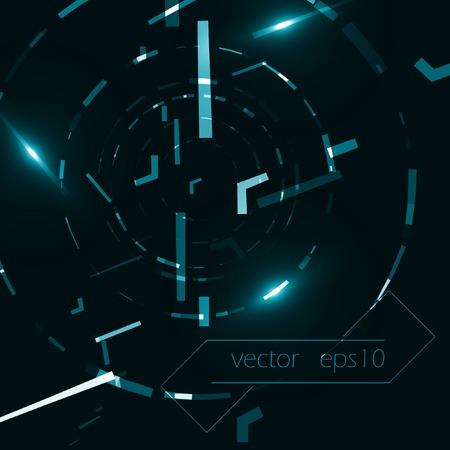 digital illustration: Abstract vector background, creative style illustration eps10.