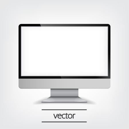 diversion: Computer Display, Vector Illustration eps10, Graphic Concept  For Your Design.