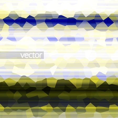 Abstract vector background, colorful art illustration   Vector