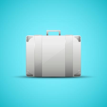 business briefcase: Business briefcase, modern icon