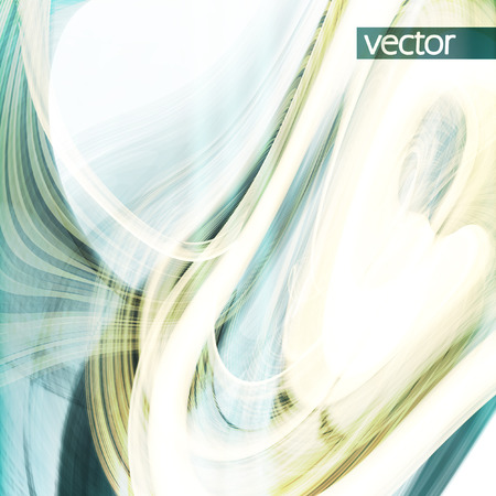 synthesis: Abstract dynamic background, futuristic wavy vector illustration eps10 Illustration