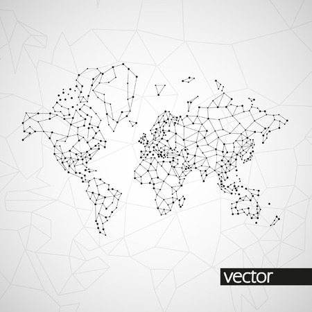 Technology image of globe. The concept vector illustration eps10 Vectores