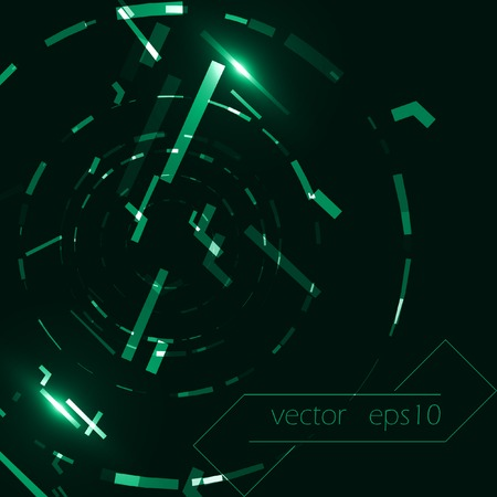 electronic background: Abstract vector background, creative style illustration  Illustration