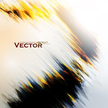 fuoco e fiamme: Fuoco astratto illustrazione fiamme. Colorful vector background