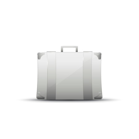 business briefcase: Business briefcase modern icon, graphic design, stylish concept Stock Photo