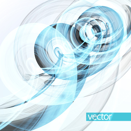 dynamic background: Abstract dynamic background, futuristic wavy vector illustration