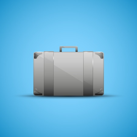 business briefcase: Business briefcase, modern icon graphic design stylish concept Stock Photo