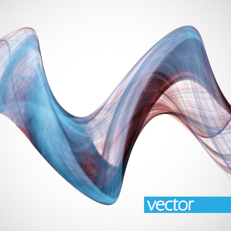dynamic: Abstract dynamic background, futuristic wavy vector illustration
