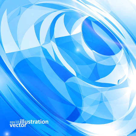 Abstract vector background, technology illustration Illustration