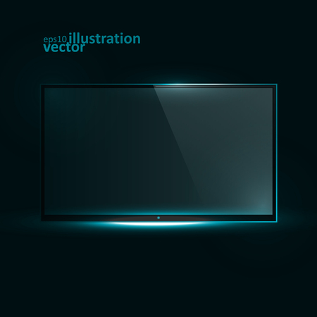 flat screen tv: TV Flat Screen Icd. Creative dynamic light element