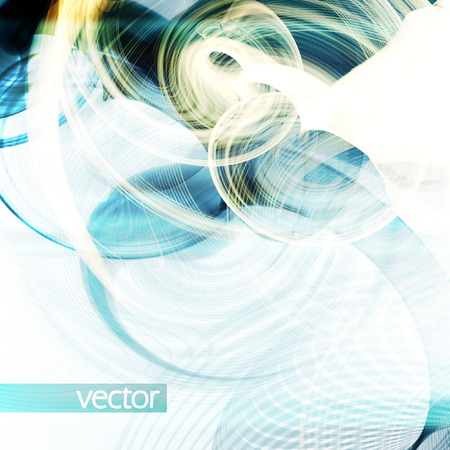 synthesis: Abstract dynamic background, futuristic wavy vector illustration