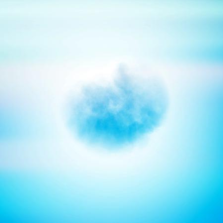 Cloud  background, creative style illustration Stock Photo