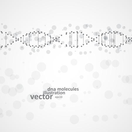 cytosine: Abstract DNA, futuristic molecule, cell illustration eps10