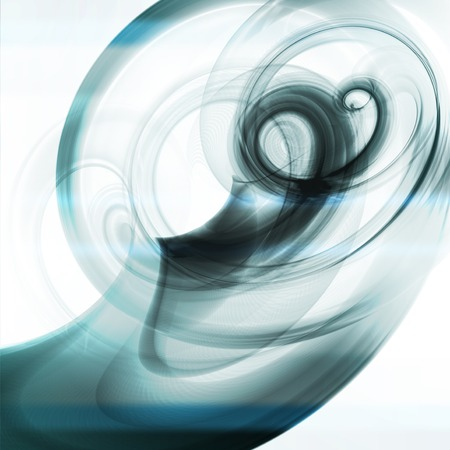 dynamic background: Abstract dynamic background, futuristic wavy illustration
