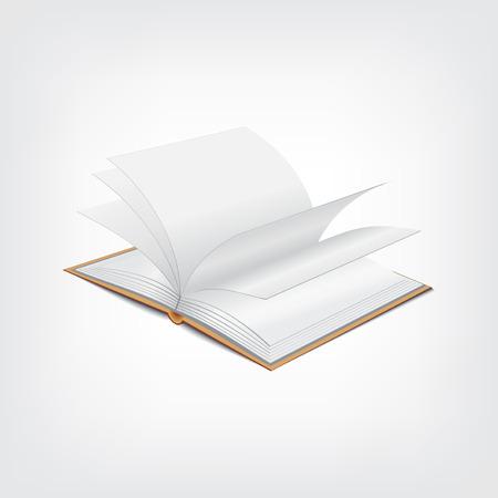 polygraph: Book illustration, graphic design stylish concept