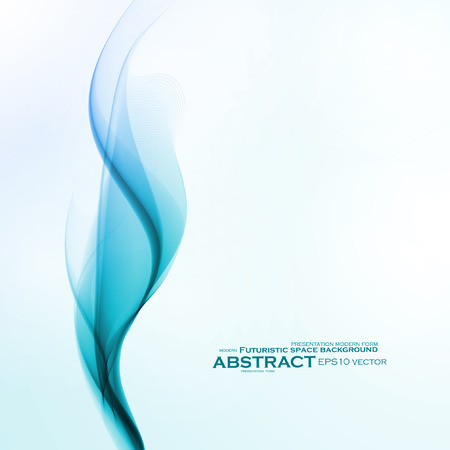 color image: Abstract water background, vector wave illustration eps10