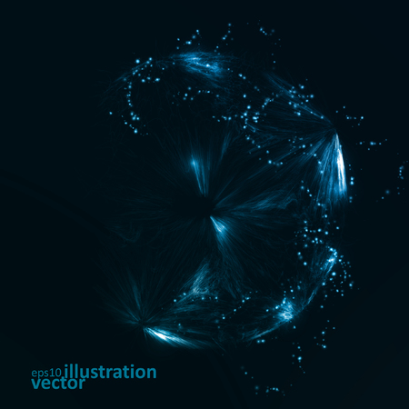 future: Abstract futuristic vector background, dark art illustration eps10