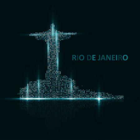 janeiro: Technology image of Rio de Janeiro.
