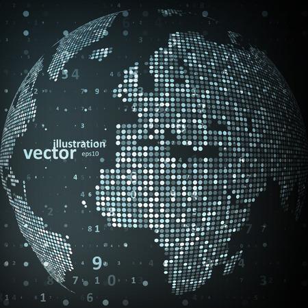 世界の技術のイメージ。