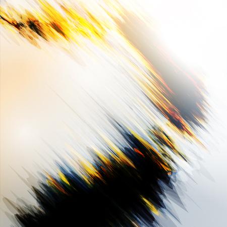 resplandor: Fuego abstracto llamas ilustración. Fondo colorido