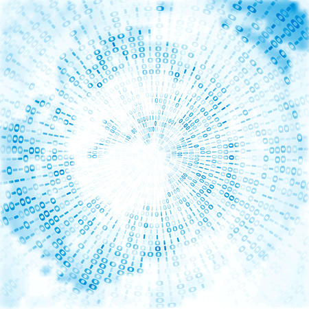 디지털 코드 배경, 추상 그림 스톡 콘텐츠