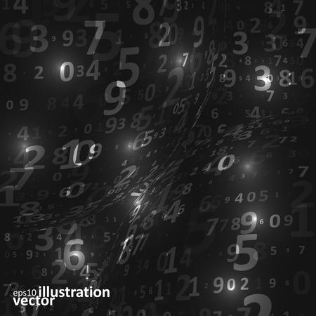 nexus: Digital code background Illustration