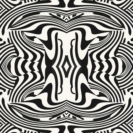 illusion: Optical illusion illustration Illustration