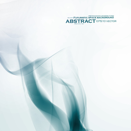 painted the cover illustration: Abstract dynamic background, futuristic wavy vector illustration eps10 Illustration