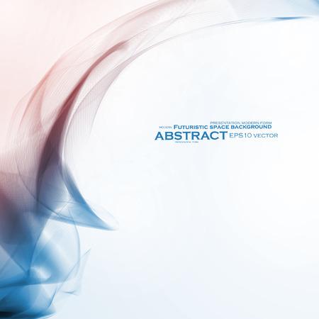 worshiping: Abstract dynamic background, futuristic wavy vector illustration eps10 Illustration