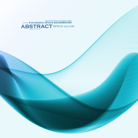 dynamic: Abstract dynamic background, futuristic wavy Illustration