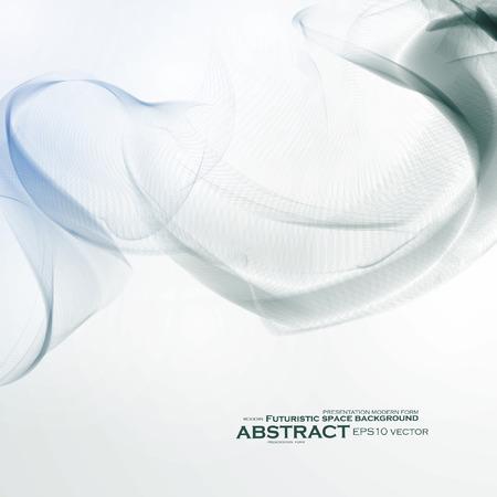 smoke background: Smoke background. Abstract composition illustration