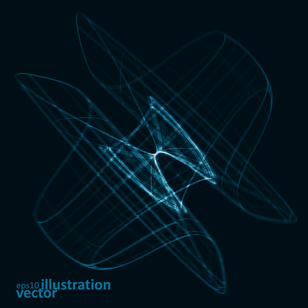dibujo tecnico: Abstract technology, vector technical drawing