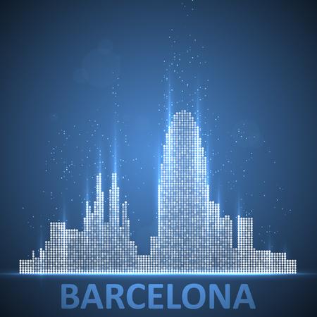 Technology image of Barcelona.