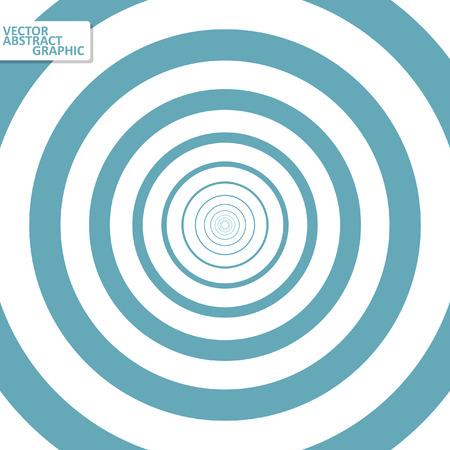 Optical illusion illustration, abstract futuristic background