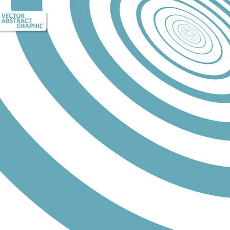 mesmerize: Optical illusion illustration, abstract futuristic background eps10