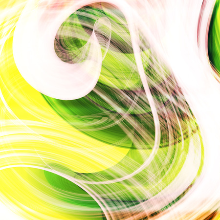 ripple effect: Abstract green background, futuristic wavy illustration