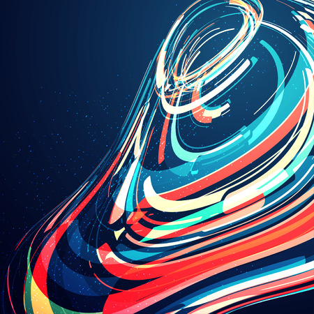 background next: Abstract dynamic background, futuristic wavy illustration