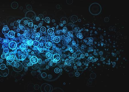 キラキラ ライト効果背景。あなたのデザインのグラフィックのコンセプト