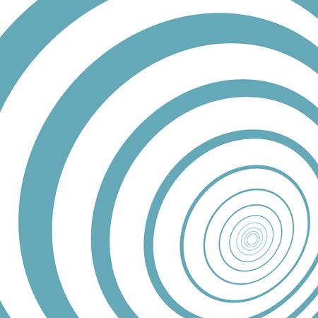 Optical illusion illustration, abstract futuristic background eps10