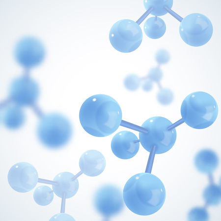 Abstract molecules design. Molecular structure. Graphic illustration for your design