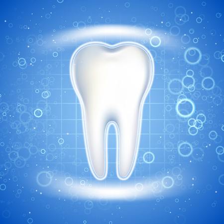 Dental care Tooth Icon. Graphic concept for your design Foto de archivo - 95825035