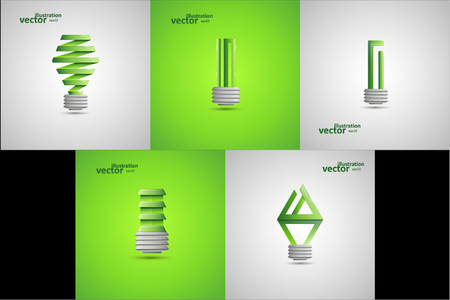 Light Bulb Illustration, Graphic Concept For Your Design.