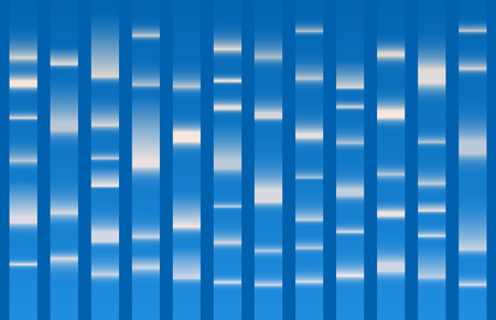 Blue Dna sequence results. DNA test, Genom map. Graphic concept for your design