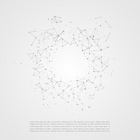Connexion réseau mondiale. Concept de composition des affaires mondiales. Concept graphique pour votre conception Vecteurs