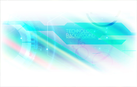 Digital hi tech concept background. Abstract futuristic cyberspace. Digital innovation background